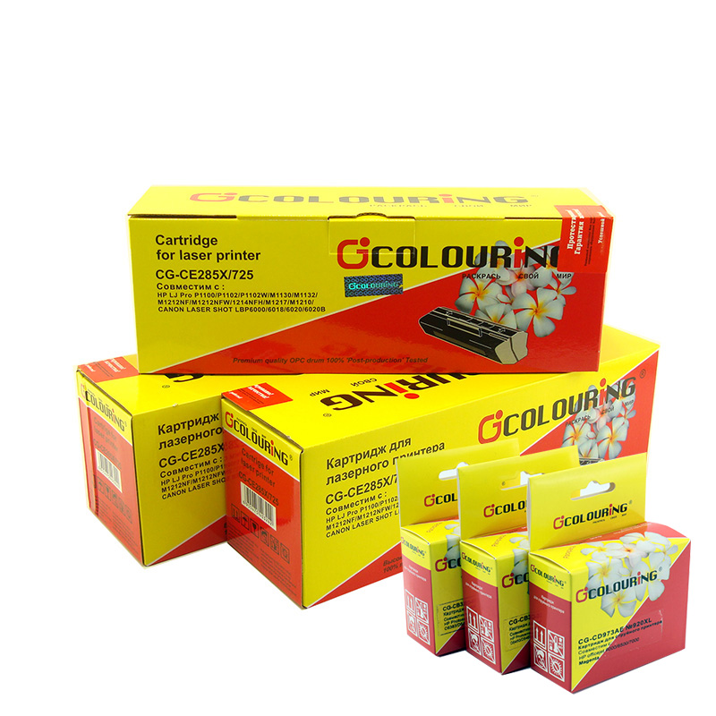 Картридж Colouring c6614ae (20) для HP black